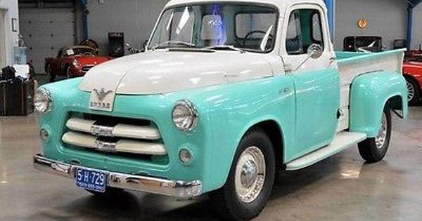 1955 C1 B8 116 1 2 Ton V8 3 Speed Manual Camioneta Dodge