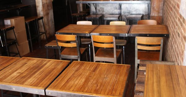 Bar Stools Tables And Chairs At Black Tree Restaurant