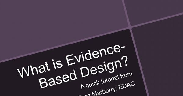 essay evidence-based healthcare architecture More and more, architecture firms are bringing health professionals into their design studios to help them create the next generation of healthcare architecture.