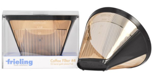 Bonavita Coffee Maker Gold Filter : Frieling 23 Karat Gold Filter. We use this with our Bonavita Automatic Coffee Maker. Favorite ...