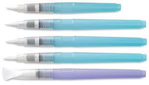 Niji Waterbrush Water Brush Drawing Supplies