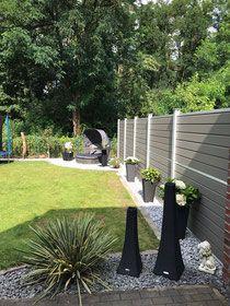 Bau Eines Wpc Zaunes Inkl Pflegeleichter Gartengestaltung Sichtschutzzaun Garten Zaun Garten Pflegeleichte Gartengestaltung