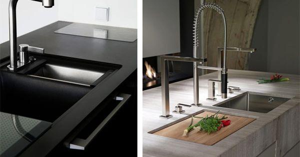 Decorando la cocina tipos de fregaderos cocina - Modelos de fregaderos ...
