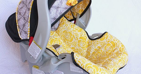 DIY Infant Car Seat Cover