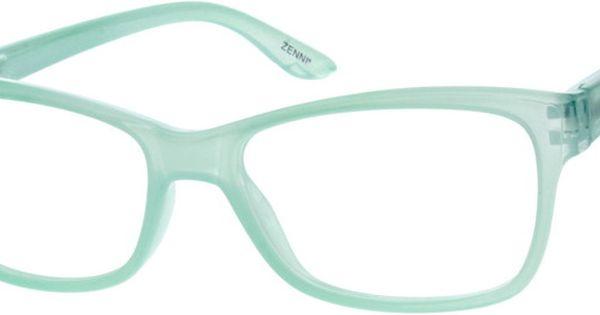 Women s Translucent Rectangle Eyeglasses 122524 Sprung ...