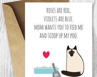 cute animal card hippie card summer card cat card cute cat card Happy Holidays card cat lady sweet card funny cat card pets card