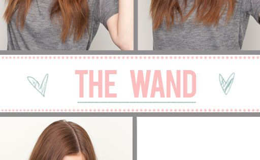 Hair How To Hair Wand Waves and Straighten Ends | Buyhair.co.uk