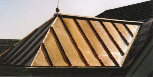 Standing Seam Metal Roofs Illinois Custom Copper