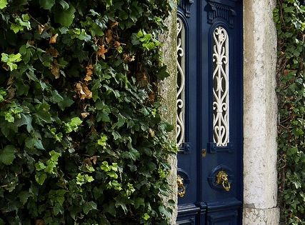 Ivy House in Lisbon--Looks like the Secret Garden door