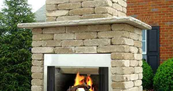 Diy outdoor wood burning fireplace building outdoor for New construction wood burning fireplace
