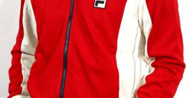 The Casual Tennis Fans Nostalgia For >> Fila Settanta Track Top Mk1 Borg Bj in RED,Fila Settanta Tracksuit Top | Hood Rich | Pinterest ...