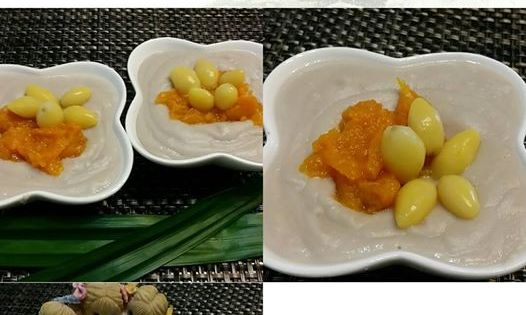 Singapore Home Cooks: Or Nee / Taro pumpkin paste by ...