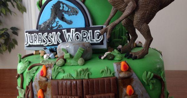 Jurassic World Cake Dinosaur Cake Mundy Mundy Cakes