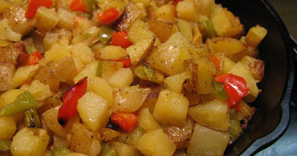 O Brien Potatoes Recipe Veggie Side Dish Recipes Potatoes Obrien Vegetable Recipes