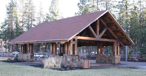 Large Picnic Shelter Plans : Large unique picnic shelter camping pinterest