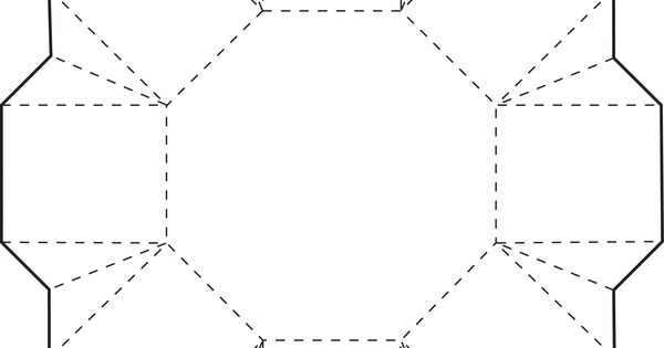 Octagon Box Box Template And Free Printable