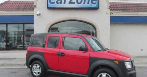 2006 Honda Element Lx 2wd At Baltimore Md Waterproof Interior