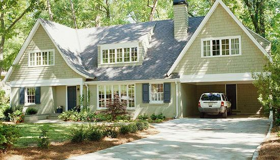 Before And After Home Exteriors Ranch Shed Dormer And Brick Ranch