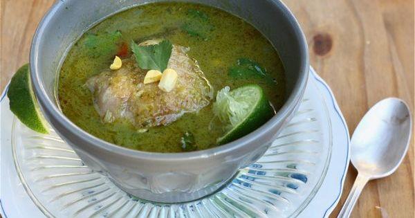 Aguadito; Peruvian Chicken Noodle Soup