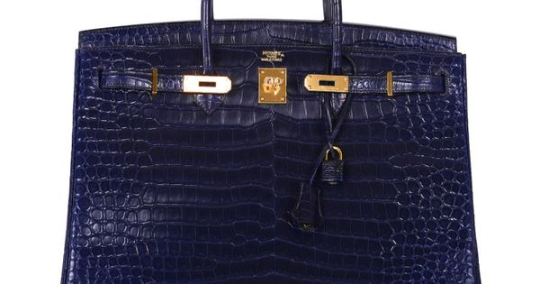 hermes birkin bag 40cm rare matte porosus crocodile gold hardware