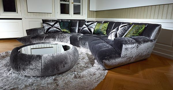 Contemporary Corner Hood Sofa Cloud 7 By Magdalena Jasienski This Is Absolutely Stunning Style At Home Wohnen Bretz Mobel