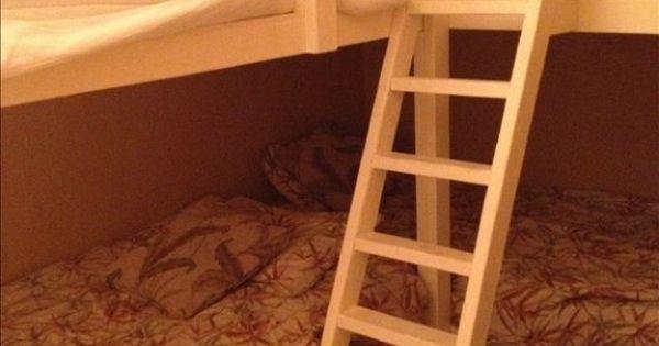 Four Quad Bunk Beds Corner For The Home Pinterest