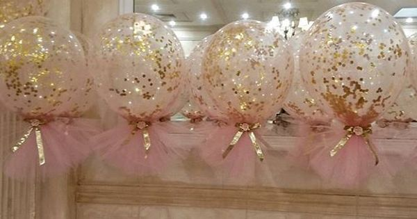 Pink And Gold Theme Christening With Our Signature