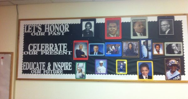 Black history bulletin board ideas middle school google for Black bulletin board ideas