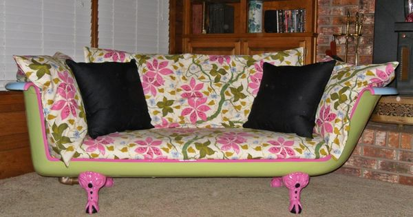 Cast Iron Tub Couch Take Me Away Calcon Pinterest