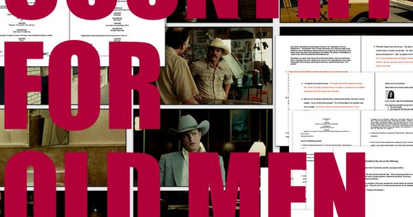 no country for old men film essay Free essay: ignorant souls will probably tell you that no country for old men is a film of thirst for blood, material wealth and a sheriff's investigation.