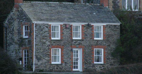 Doc Martin S House In Portwenn Port Isaac Cornwall House On