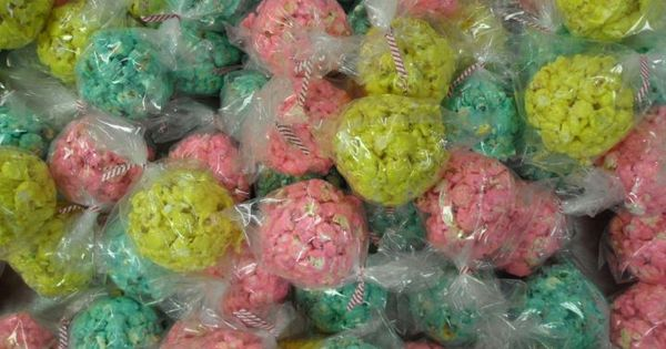 Popcorn balls, Popcorn and Easter on Pinterest