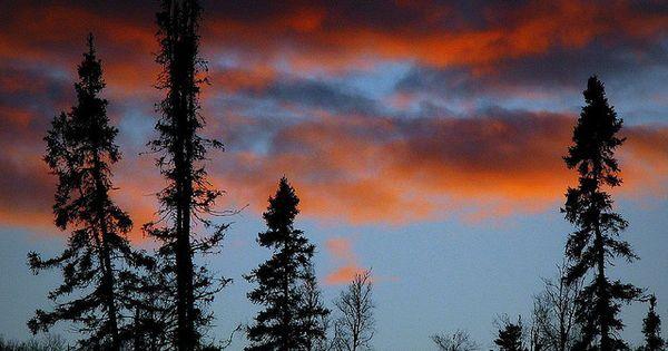 A beautiful Minnesota sunset