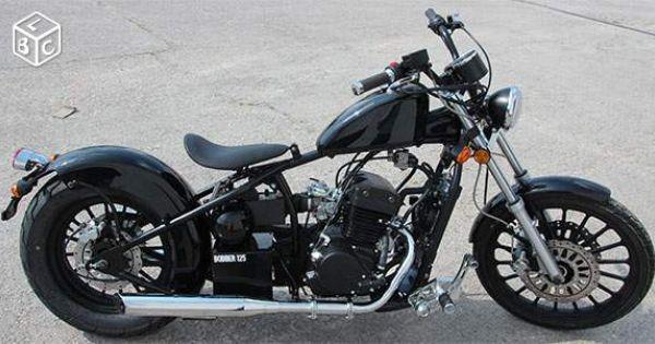 regal raptor bobber 125 noir moto custom rigide bobbers 125 made in france et d 39 ailleurs. Black Bedroom Furniture Sets. Home Design Ideas