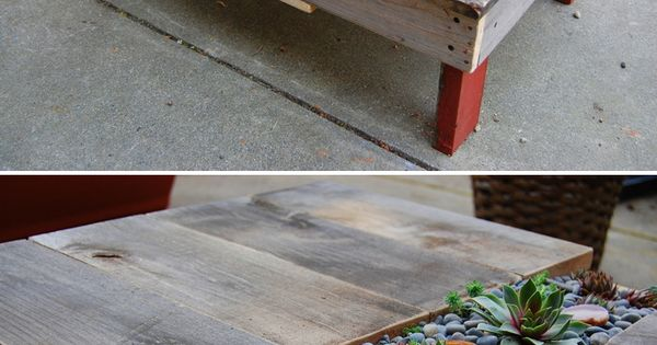 #DIY: Garden Table (pallet table) http://dunway.us/kindle/html/frugal1.html