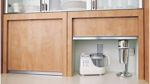 Tambour Kitchen Cabinet Roller Doors From Kethy Australia Kitchen Cabinets Roller Doors Kitchen Cupboards