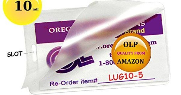 Luggage Tags Collections Olp Hot 10 Mil Luggage Tag Laminating Pouches With Slot Pack Of 500 212 X 414 Clear By Premium Luggage Luggage Tags Stylish Luggage