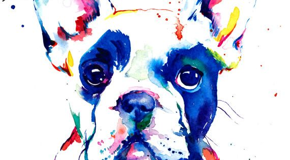 If you love Frenchies like I do, youll like this painting! This