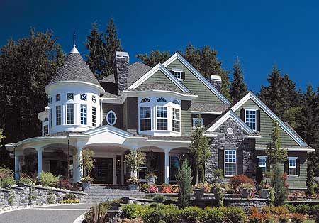 Plan 2384jd Award Winning House Plan Victorian House Plans Modern Victorian Homes Victorian Homes