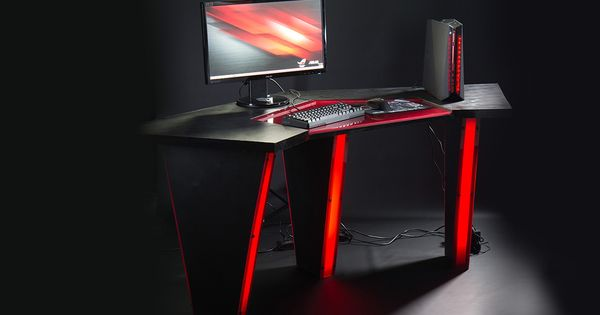 gaming pc desk rog arrow desk emmanuel cuccu gaming machine 29879
