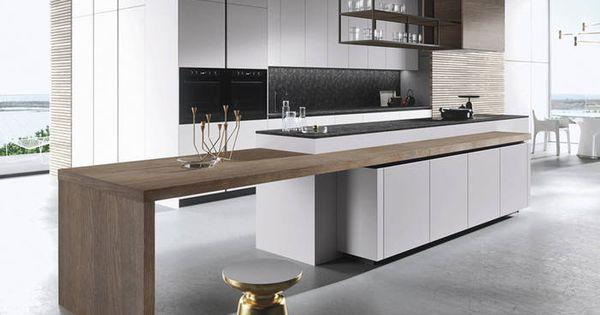 Une cuisine au sol et plafond gris b ton 7 styles de for Trouver une cuisine