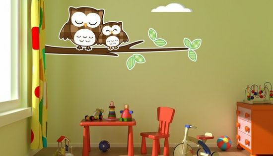 kreative kinderzimmer | vogelhaus im kinder- und babyzimmer – süße, Schlafzimmer design