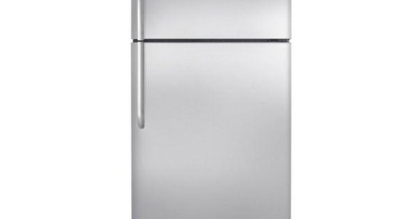 Frigidaire 18 2 Cu Ft Top Freezer Refrigerator Stainless