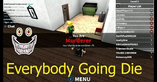 Pin On Roblox Murder Mystery 2