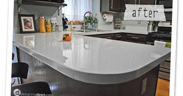 Countertop Paint Tutorial : ... Counter Top Tutorial Kitchen Counters, Countertops and Counter Tops