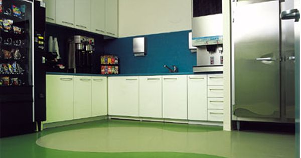 Modern Kitchen With Rubber Flooring Home Ideas