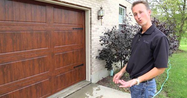 Watch How To Wash Your Garage Door Via Clopay Garage