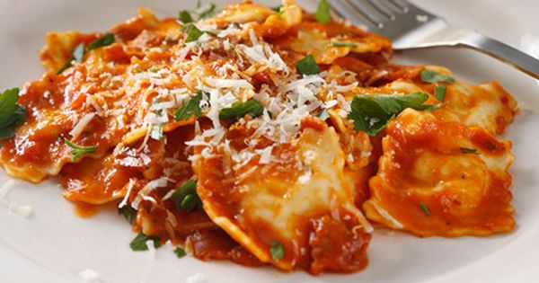 Cheese Delicato Ravioli all'Amatriciana | Giovanni Rana #toitalyin10 # ...
