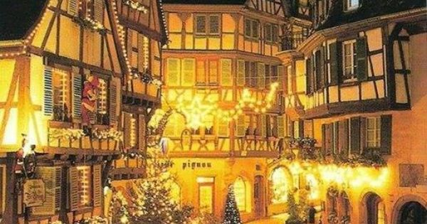 Christmas in colmar france europe explore europe Colmar beauty and the beast
