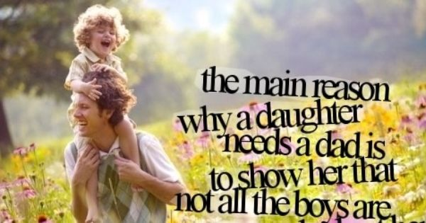 inspirational father essay